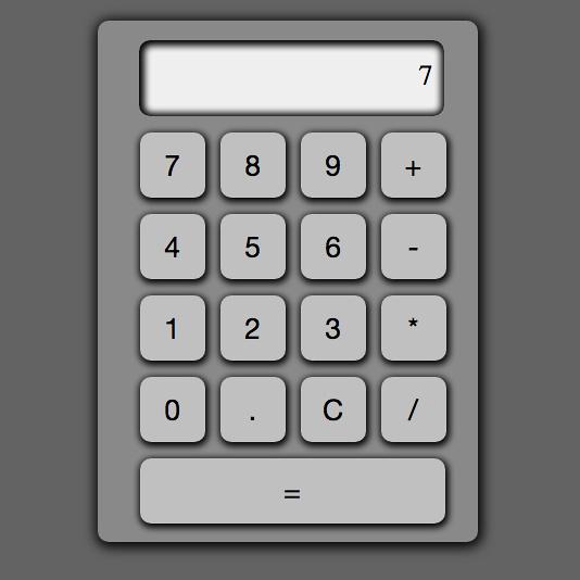 Second JavaScript Calculator.