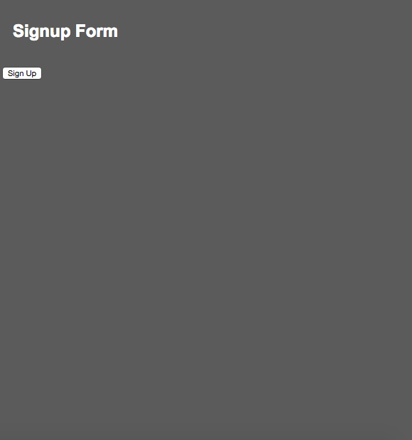 Signup form built using HTML5, CSS3 and JavaScript.